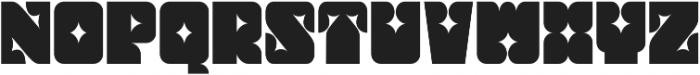 Thorny Regular otf (400) Font UPPERCASE