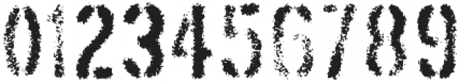 Threefortysixbarrel Exhaust otf (400) Font OTHER CHARS