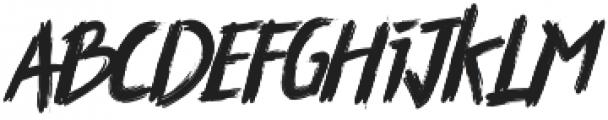 Thriller otf (400) Font LOWERCASE