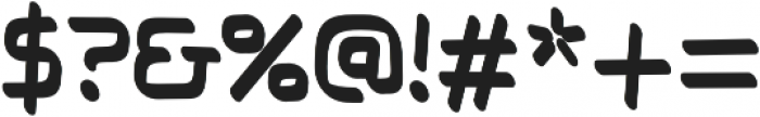 Thrive regular otf (400) Font OTHER CHARS