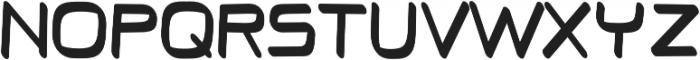 Thrive regular otf (400) Font UPPERCASE