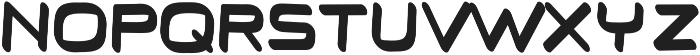 Thrive regular otf (400) Font LOWERCASE