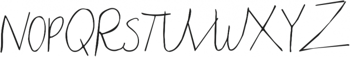 Throw My Hands Up in the Air ttf (400) Font UPPERCASE