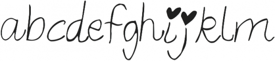 Throw My Hands Up in the Air ttf (400) Font LOWERCASE
