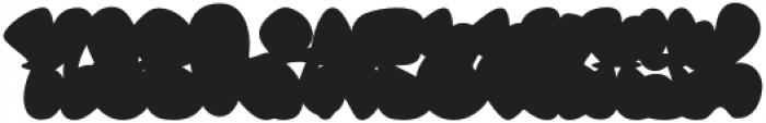 Throws-Fill Regular otf (400) Font LOWERCASE