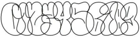 Throws-Line Regular otf (400) Font OTHER CHARS