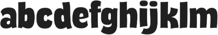 Thump Regular otf (400) Font LOWERCASE