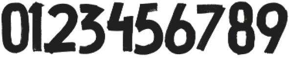 Thunder Stone SVG All Caps otf (400) Font OTHER CHARS