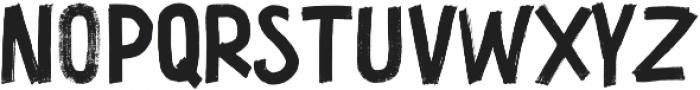 Thunder Stone SVG All Caps otf (400) Font UPPERCASE