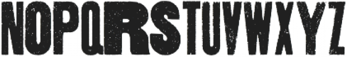 Thunderhouse Regular otf (400) Font LOWERCASE
