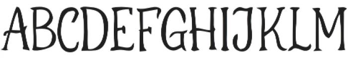 ThurstoN otf (400) Font UPPERCASE