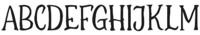 ThurstoN otf (400) Font LOWERCASE