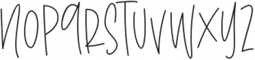 the Notebook Sans otf (400) Font UPPERCASE