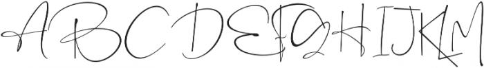 the Rochester otf (400) Font UPPERCASE