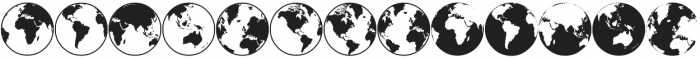 the-earth ttf (400) Font LOWERCASE