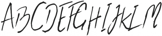 the flashter otf (400) Font UPPERCASE