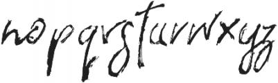 the flashter otf (400) Font LOWERCASE