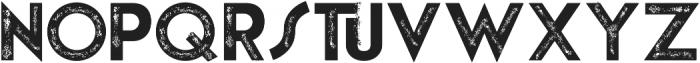 theLUXX Vintage otf (400) Font UPPERCASE