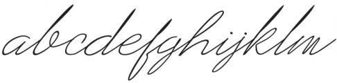theodore theodore otf (400) Font LOWERCASE