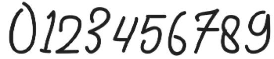 thirsty Regular otf (400) Font OTHER CHARS