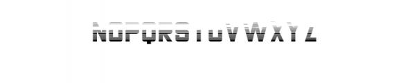 THECHAMP-italic.otf Font UPPERCASE