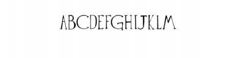 The Anomali Typeface Font UPPERCASE
