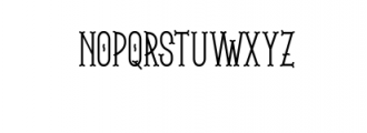 The Brooks Font UPPERCASE