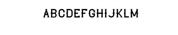 TheLekker.otf Font UPPERCASE