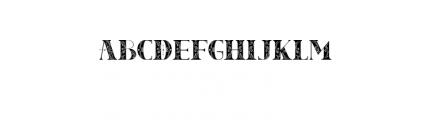TheModish Font UPPERCASE