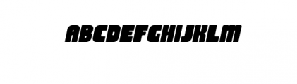 Thiket Typeface Font UPPERCASE