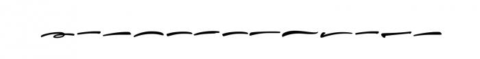 Thunder Font UPPERCASE