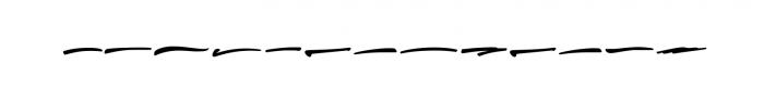 Thunder Font LOWERCASE