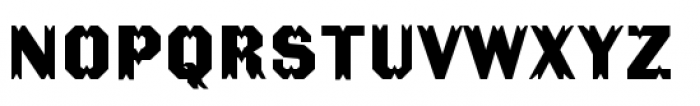 The Becker Gothics Tuscan Font LOWERCASE