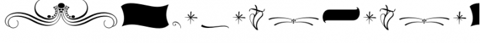 The Carpenter Ornaments Font OTHER CHARS