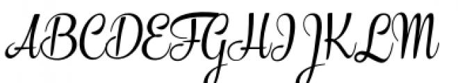 The Carpenter Regular Font UPPERCASE