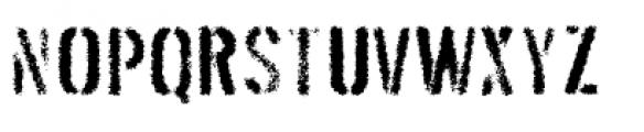 Threefortysixbarrel Exhaust Font UPPERCASE