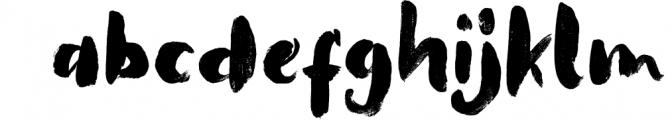 That Lembuts SVG & Brush Fonts Font LOWERCASE