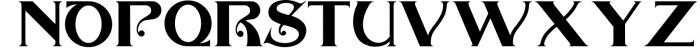 The Arthington Bonus 2 font. 1 Font UPPERCASE