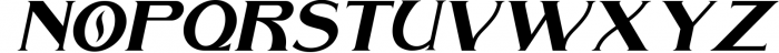 The Arthington Bonus 2 font. Font LOWERCASE
