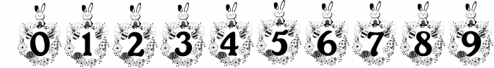 The Easter Joy Font Pack 1 Font OTHER CHARS