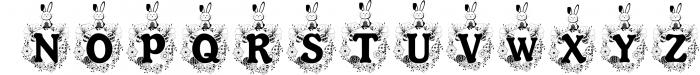 The Easter Joy Font Pack 1 Font UPPERCASE