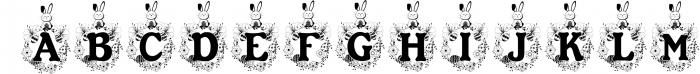 The Easter Joy Font Pack 1 Font LOWERCASE