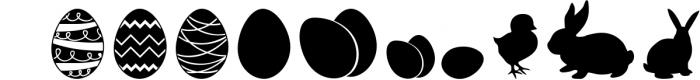 The Easter Joy Font Pack 2 Font UPPERCASE