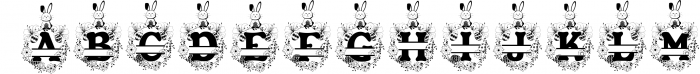 The Easter Joy Font Pack 4 Font LOWERCASE