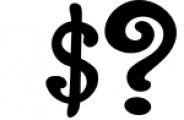 The Foughe Script - Unique Retro Font Font OTHER CHARS