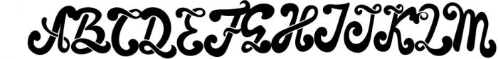 The Foughe Script - Unique Retro Font Font UPPERCASE