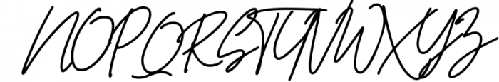 The Promised Signature Font Font UPPERCASE
