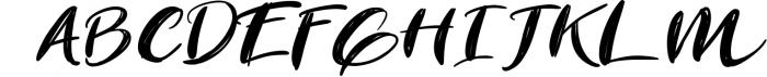 The Revolution Brush Font Font UPPERCASE