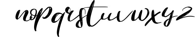 The Revolution Brush Font Font LOWERCASE