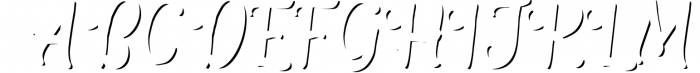 The Salvador 2 Font UPPERCASE